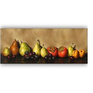 Vitalwalls Still Life Painting Canvas Art Print, Wooden Frame. Static-212-F-60 cm