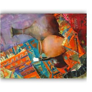 Vitalwalls Still Life Painting Canvas Art Print. Static-267-45cm
