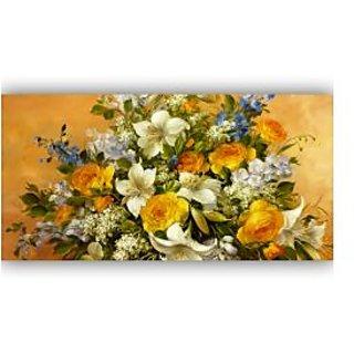Vitalwalls Still Life Painting Canvas Art Print, Wooden Frame. Static-272-F-45cm