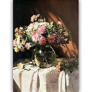 Vitalwalls Still Life Painting Canvas Art Print. Static-275-30cm