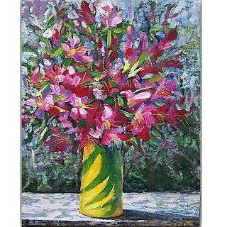 Vitalwalls Still Life Painting Canvas Art Print. Static-280-45cm