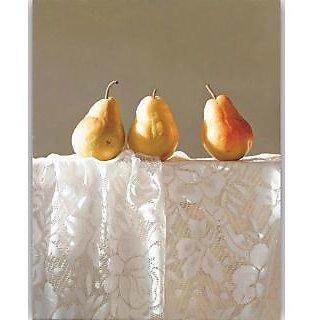Vitalwalls Still Life Painting Canvas Art Print, Wooden Frame. Static-290-F-60cm