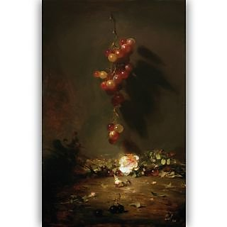 Vitalwalls Still Life Painting Canvas Art Print. Static-292-30cm