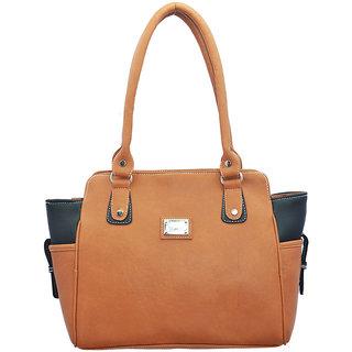 Lady queen tan casual bag