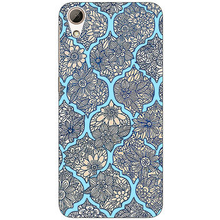 1 Crazy Designer Sky Morroccan Pattern Back Cover Case For HTC Desire 626S C950244