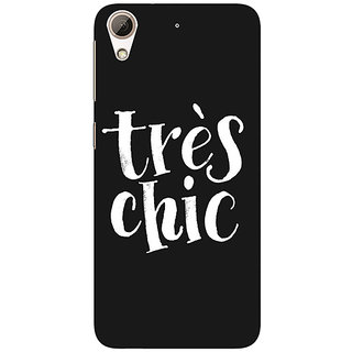 1 Crazy Designer Quote Back Cover Case For HTC Desire 626G+ C941469
