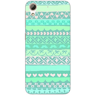 1 Crazy Designer Aztec Girly Tribal Back Cover Case For HTC Desire 728 C960074