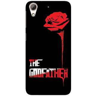 1 Crazy Designer The Godfather Back Cover Case For HTC Desire 728 C960347
