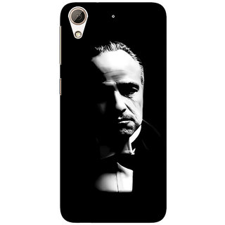 1 Crazy Designer The Godfather Back Cover Case For HTC Desire 728 C960348