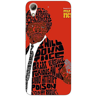 1 Crazy Designer Pulp Fiction Back Cover Case For HTC Desire 626S C950354