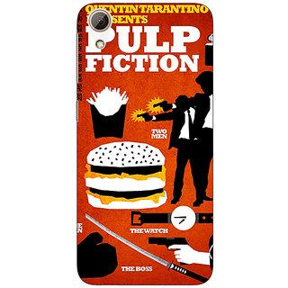 1 Crazy Designer Pulp Fiction Back Cover Case For HTC Desire 626S C950355