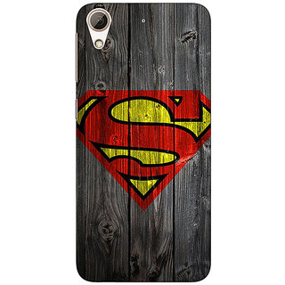 1 Crazy Designer Superheroes Superman Back Cover Case For HTC Desire 728 C960384