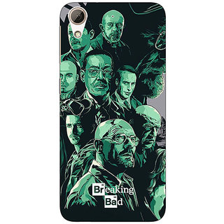 1 Crazy Designer Breaking Bad Heisenberg Back Cover Case For HTC Desire 728 C960401
