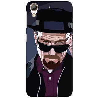 1 Crazy Designer Breaking Bad Heisenberg Back Cover Case For HTC Desire 728 C960416