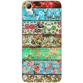 1 Crazy Designer Floral Pattern  Back Cover Case For HTC Desire 626S C950671