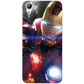1 Crazy Designer Superheroes Ironman Back Cover Case For HTC Desire 626S C950882