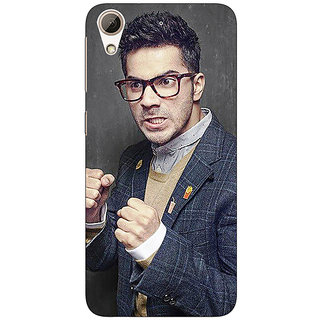 1 Crazy Designer Bollywood Superstar Varun Dhawan Back Cover Case For HTC Desire 626S C950906