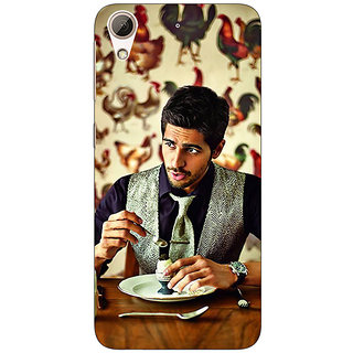 1 Crazy Designer Bollywood Superstar Siddharth Malhotra Back Cover Case For HTC Desire 626S C950942