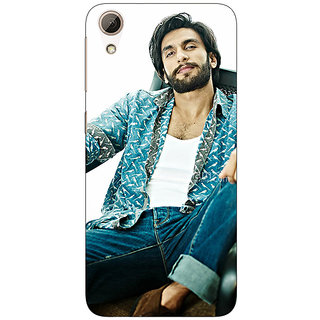 1 Crazy Designer Bollywood Superstar Ranveer Singh Back Cover Case For HTC Desire 626S C950955