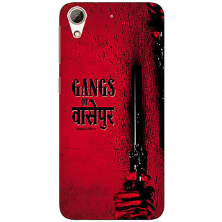 1 Crazy Designer Bollywood Superstar Gangs Of Wasseypur Back Cover Case For HTC Desire 626S C951103