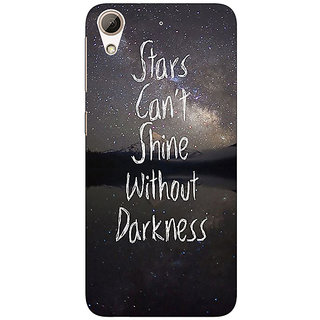 1 Crazy Designer Quote Back Cover Case For HTC Desire 626S C951478