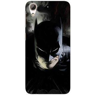 1 Crazy Designer Superheroes Batman Dark knight Back Cover Case For HTC Desire 728 C960006