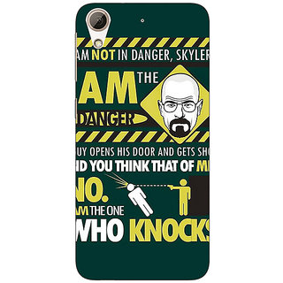 1 Crazy Designer Breaking Bad Heisenberg Back Cover Case For HTC Desire 728 C960420