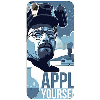 1 Crazy Designer Breaking Bad Heisenberg Back Cover Case For HTC Desire 728 C960424