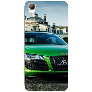 1 Crazy Designer Super Car Audi Back Cover Case For HTC Desire 728 C960619