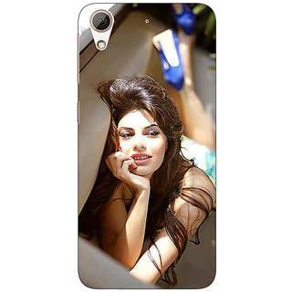 1 Crazy Designer Bollywood Superstar Jacqueline Fernandez Back Cover Case For HTC Desire 728G Dual Sim C970996