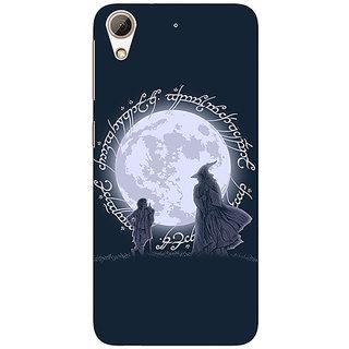 1 Crazy Designer LOTR Hobbit  Back Cover Case For HTC Desire 728 Dual Sim C980378