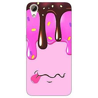 1 Crazy Designer Ice cream Back Cover Case For HTC Desire 728 Dual Sim C981393