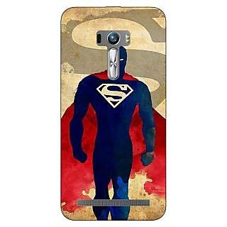 1 Crazy Designer Superheroes Superman Back Cover Case For Asus Zenfone Selfie C990040