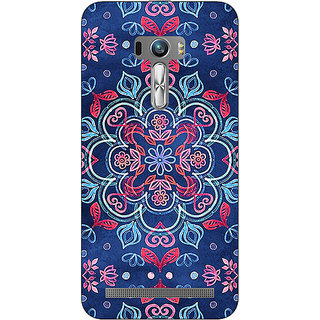 1 Crazy Designer Night Floral Pattern Back Cover Case For Asus Zenfone Selfie C990226