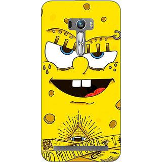 1 Crazy Designer Spongebob Back Cover Case For Asus Zenfone Selfie C990466