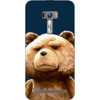 1 Crazy Designer TED Teddy Back Cover Case For Asus Zenfone Selfie C990491