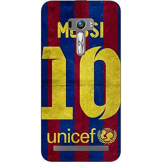 1 Crazy Designer Barcelona Messi Back Cover Case For Asus Zenfone Selfie C990523