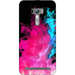 1 Crazy Designer Colourful Smoke Back Cover Case For Asus Zenfone Selfie C990776