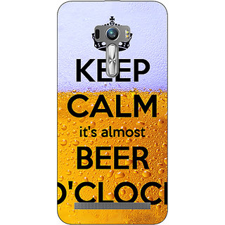 1 Crazy Designer Beer Quote Back Cover Case For Asus Zenfone Selfie C991259