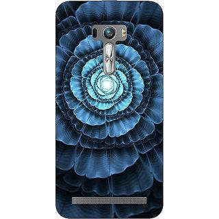 1 Crazy Designer Abstract Flower Pattern Back Cover Case For Asus Zenfone Selfie C991517