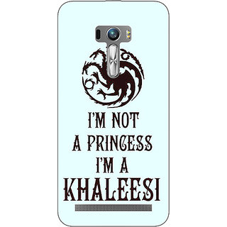 1 Crazy Designer Game Of Thrones GOT Princess Khaleesi Back Cover Case For Asus Zenfone Selfie C991538