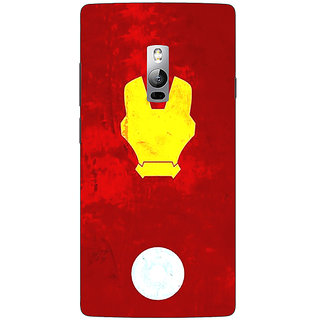 1 Crazy Designer Superheroes Ironman Back Cover Case For OnePlus Two C1000021