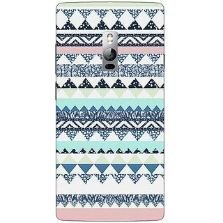 1 Crazy Designer Aztec Girly Tribal Back Cover Case For OnePlus Two C1000073