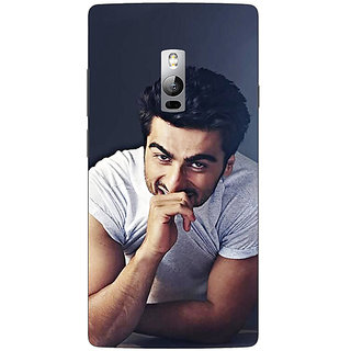 1 Crazy Designer Bollywood Superstar Arjun Kapoor Back Cover Case For OnePlus Two C1000901