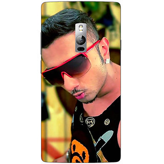 1 Crazy Designer Bollywood Superstar Honey Singh Back Cover Case For OnePlus Two C1001181