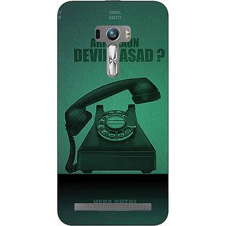 1 Crazy Designer Bollywood Superstar Hera Pheri Devi Prasad Back Cover Case For Asus Zenfone Selfie C991112