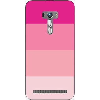 1 Crazy Designer Pink Stripes Back Cover Case For Asus Zenfone Selfie C991147