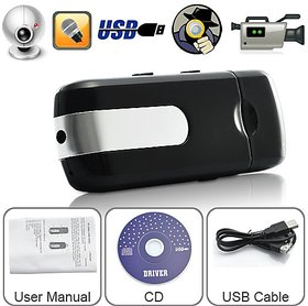 Spy Camera USB Pen Drive Audio Video Recording