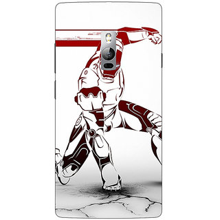 1 Crazy Designer Superheroes Ironman Back Cover Case For OnePlus Two C1000861