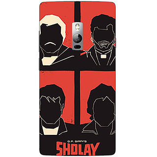 1 Crazy Designer Bollywood Superstar Sholay Back Cover Case For OnePlus Two C1001124